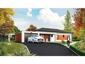 Vente maison (garage  cuisine ouverte  cellier) Verdun sur Garonne