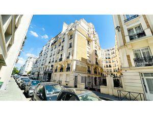 T3/4 de 62 m2 rue Le Marois à Paris 16  proche porte de St Cloud