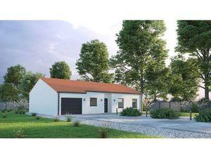 Vente maison (garage  au calme  plain-pied  cuisine ouverte  suite parentale) Beaugeay