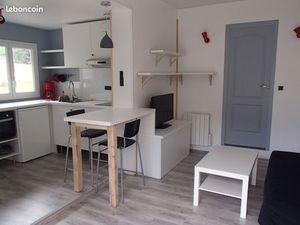 Studio 22 m² avec jardin. Domaine Universitaire