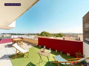 Appartement à vendre Montpellier 3 pièces 69 m2 Herault (34070)