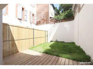 Chartreuse hyper centre jardin + terrasse