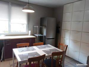 Location T 3 meublé + garage