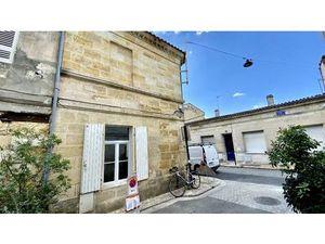 Vente maison (terrasse  bureau  cuisine ouverte  en pierre  cellier  parquet) Bordeaux