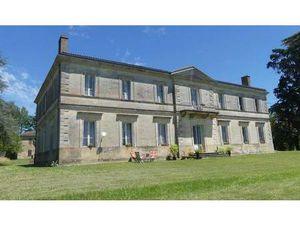Vignoble en Vente à Bordeaux : Château Directoire Entre-deux-Mers.Située à 12 kilomètres d