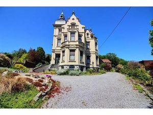 Superbe maison de Maître de 1915 en recul de voirie  se composant comme suit: Sous-sol: Ca