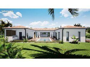 Villa contemporaine Neuve de 125M2 M2 à 3 minutes du centre de castelnau destretefonds