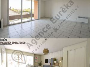 Vente Appartement 3 pièces de 61 m²