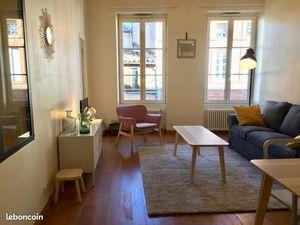 Loue appartement meublé centre ville Toulouse