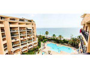 Cannes La Bocca - Appartement 3 pièces Front de mer