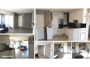 Appartement 2/3 pièces 50m² climatisé en RDJ avec piscine