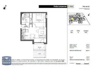 Appartement 2 pièces  38.05m² GES63090016-297