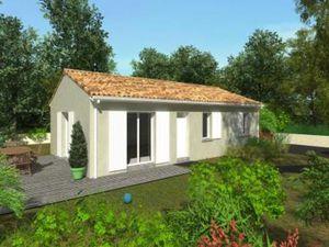 Maison à vendre Fieu 5 pièces 90 m2 Gironde (33230)