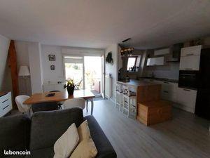 Appartement 3 - 4 pieces duplex terrase garage parking et cave kilstett