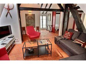 (Disponible 1-24 mois) 1 chambre dans le quartier historique du Marais