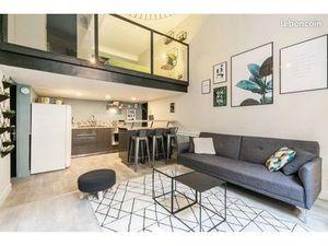Duplex meublé et équipé haut de gamme • Entièrement refait à neuf