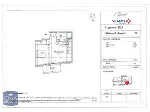 Location appartement Le Petit-Quevilly (76140) 2 pièces 40.35m²  561€ - Réf : GES89870113-