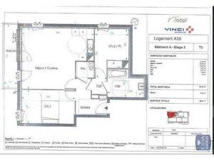 Location appartement Le Petit-Quevilly (76140) 3 pièces 62.32m²  727€ - Réf : GES89870018-