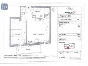 Location appartement Le Petit-Quevilly (76140) 2 pièces 39.05m²  550€ - Réf : GES89870124-