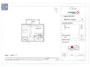Location appartement Le Petit-Quevilly (76140) 2 pièces 39.64m²  559€ - Réf : GES89870131-