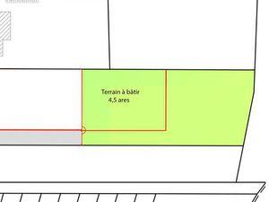 Terrain à construire de 4 5 ares à DALHUNDEN