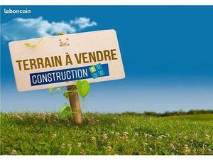 Terrain constructible St Jean de soudain
