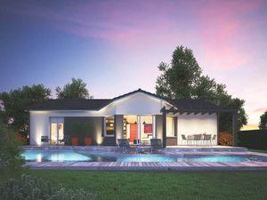 Annonce maison vente101 m² 4 pièces à Coutras A ()  sur un terrain de 1056