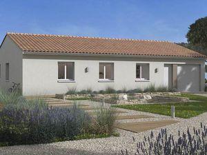 Annonce maison vente103 m² 5 pièces à Gémil Agréable villa de 103 m² avec garage
