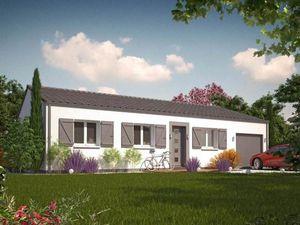 Annonce maison vente90 m² 5 pièces à Saint-Martin-de-Laye A Saint Martin de Laye ()  sur