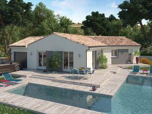 Annonce maison vente105 m² 4 pièces à Guîtres Sur la commune de ()  avec un