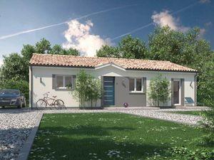 Annonce maison vente90 m² 4 pièces à Saint-Médard-de-Guizières Sur un terrain de 1328 m2 à