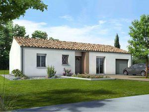 Annonce maison vente92 m² 4 pièces à Coutras A ()  sur un terrain de 200