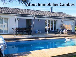 Annonce maison vente100 m² 4 pièces à Cambes Secteur Quinsac  sur les hauteurs de .