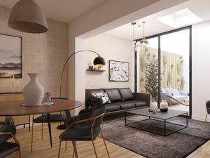 Annonce appartement vente68 m² 4 pièces à Bordeaux Appartement T4 duplex et patio dans un