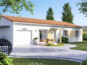 Annonce maison vente85 m² 4 pièces à Bouloc Sur la commune de   charmant terrain