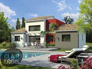 Annonce maison vente90 m² 4 pièces à Gallargues-le-Montueux Terrain viabilisé  entre Montp