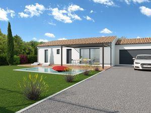 Annonce maison vente95 m² 4 pièces à Bouloc Magnifique terrain plat et arboré sur la