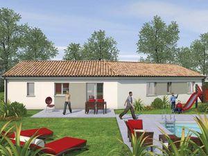 Annonce maison vente80 m² 3 pièces à Blanquefort Eloignez-vous du vis-à-vis dans cette agr