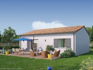 Annonce maison vente66 m² 3 pièces à Arsac Terrain idéalement situé sur   proche des
