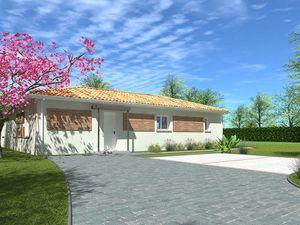 Annonce maison vente90 m² 4 pièces à Saint-André-de-Cubzac Terrain viabilisé de 500 m² ave