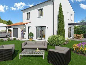 Annonce maison vente104 m² 5 pièces à Muret MAISON CONTEMPORAINE 4 CHAMBRES : optimisée et
