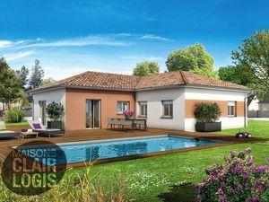 Annonce maison vente90 m² 4 pièces à Villeneuve-lès-Bouloc Bien rare sur ce secteur. Terra