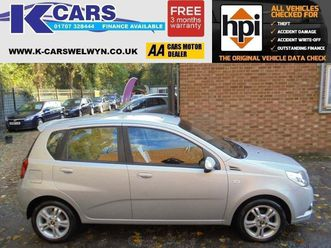 chevrolet aveo 1.4 lt 5drone owner..low mileage