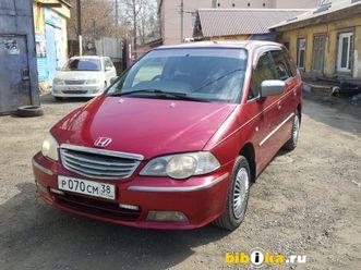 honda odyssey 2 поколение 2.3 at (150 л.с.) 2001г за 320 тыс руб в иркутске
