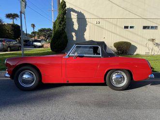 1962 austin-healey sprite mk ii for sale