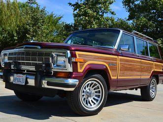 1991 jeep wagoneer grand wagonmaster