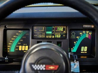 1986 chevrolet corvette for sale
