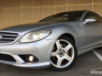 mercedes-benz cl 500 amg exclusive 7g-tronic