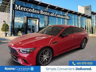 2019 mercedes-benz amg gt 63 4matic