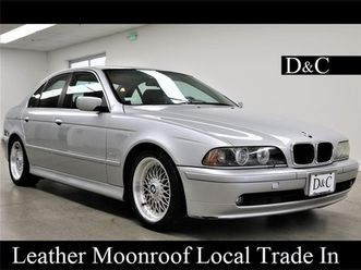 Bmw 5 Series 2001 Bmw 5 Series 525i Used The Parking